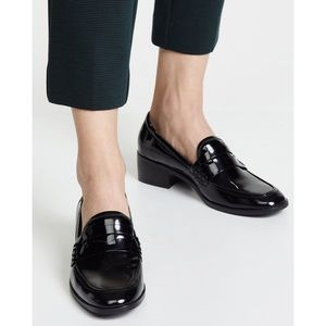 Steve Madden Iona Black Patent Loafers